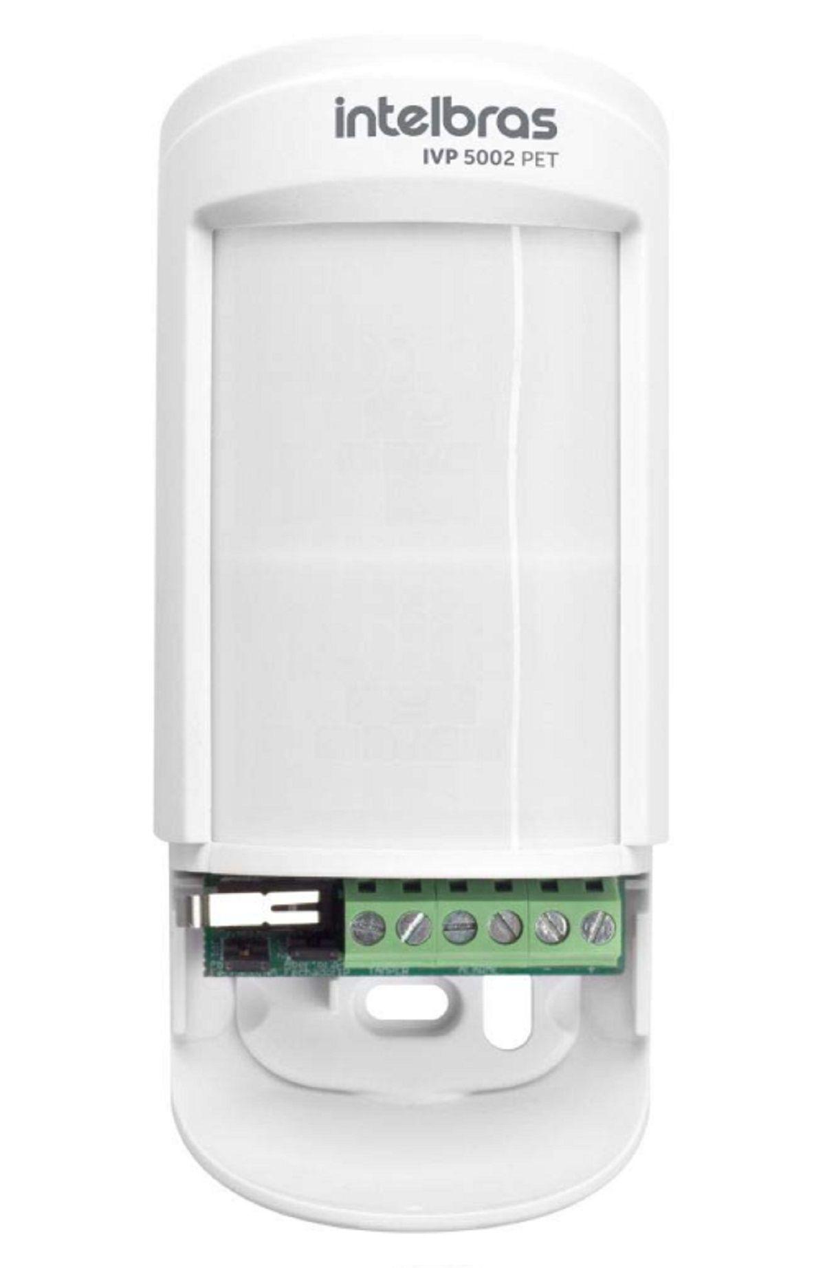 Sensor Infravermelho Ivp 5002 Pet 35kg 12 Metros Intelbras
