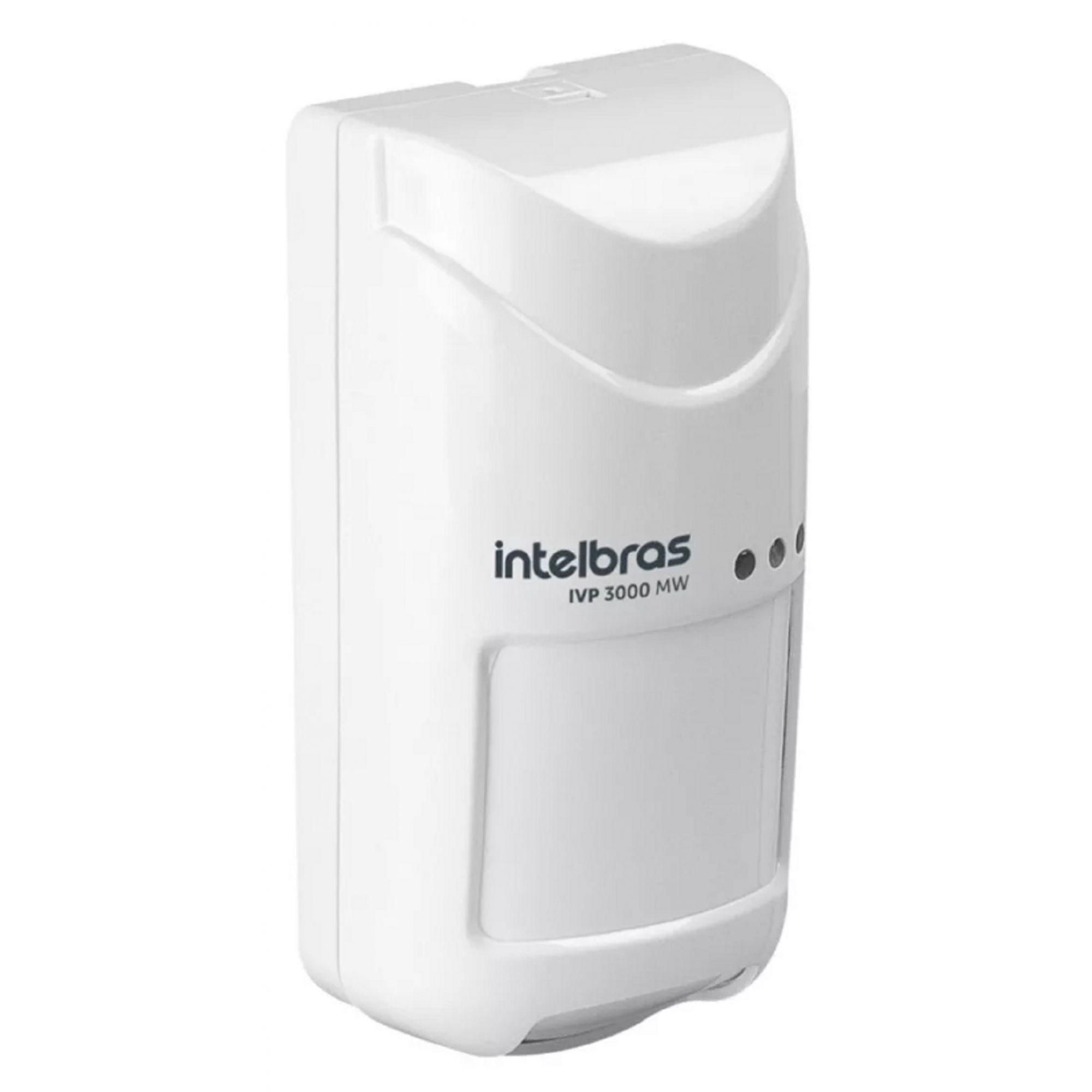 Sensor Passivo Tripla Intelbras Ivp3000 Mw Pet