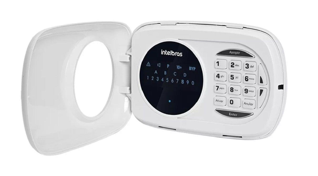 Teclado Led Intelbras Xat 3000 Lcd Central De Alarme Xat3000
