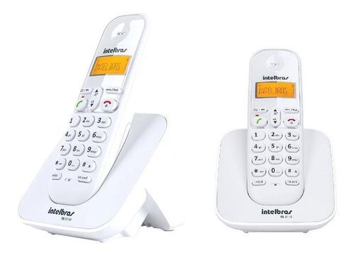 Telefone S Fio Com Ramal Intelbras Branco Longo Alcance