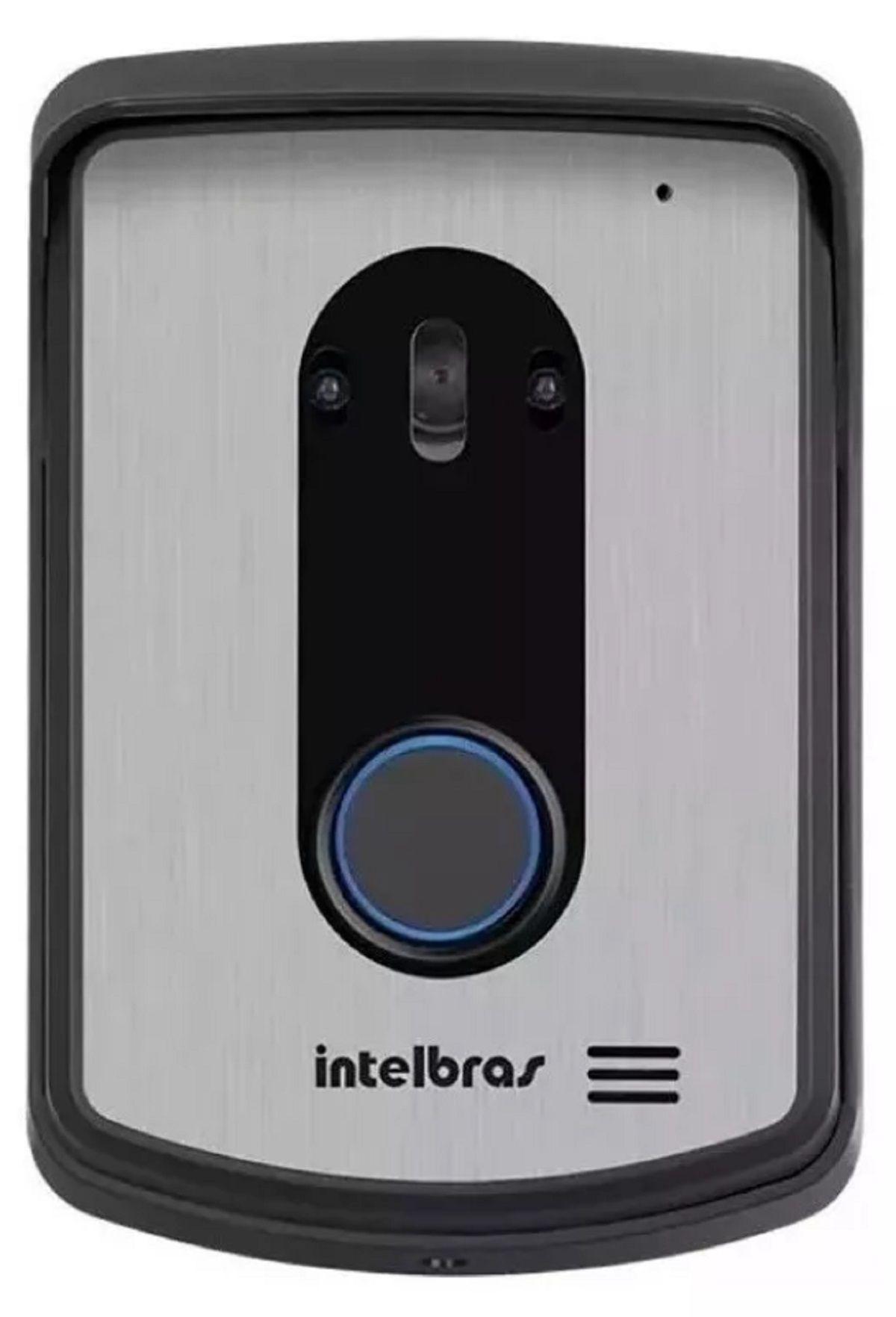 Vídeo Porteiro Intelbras Colorido Iv 7010 Lcd e 1 Camera