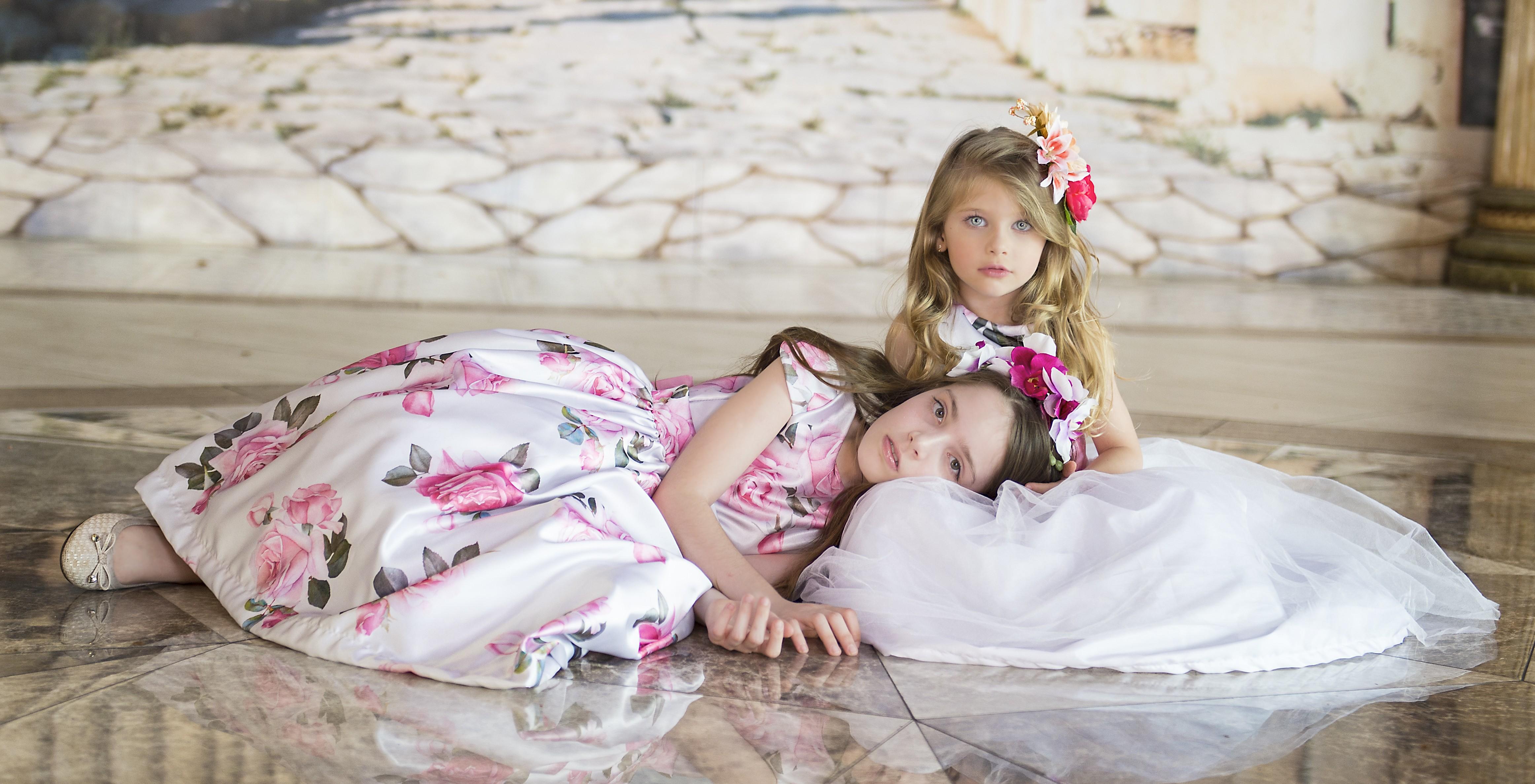 9760e3172 Vestido Infantil Festa e Dama De Honra - Nina Baunilha Exclusive