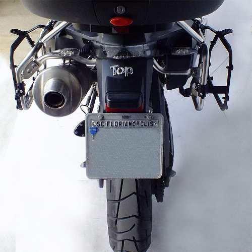 Suporte Bau Mala Lateral Adventure 800 Gs Bmw Scam Preto