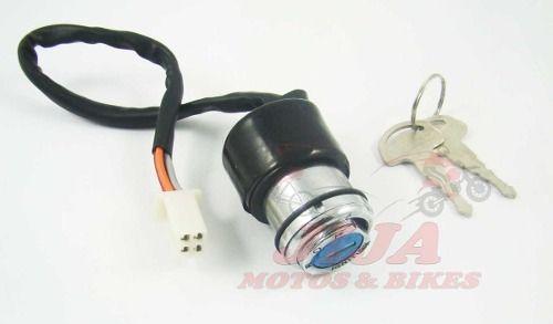 Chave Igniçao Contato Intruder 125 06/09 modelo original