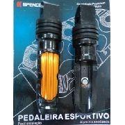 Pedaleira Spencer Spc 581 Esportiva Par Dourado