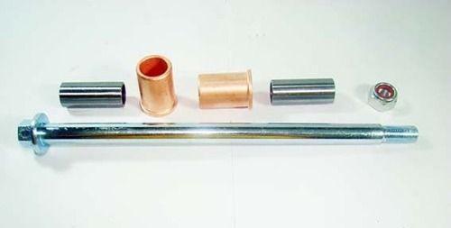 Eixo Quadro Elastico Balança Ybr 125 C/ Bucha metal dourado 5050