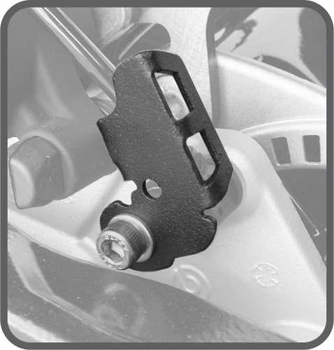 Protetor Sensor Abs Adventure 800 Gs Bmw Scam Preto Spto141