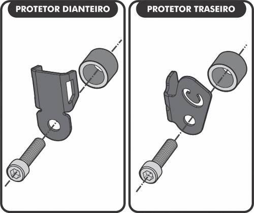 Protetor Sensor Abs Cb 500 X Scam 2016/