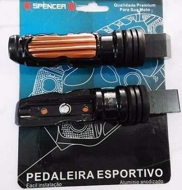 Pedaleira Spencer Spc 581 Esportiva Par Bronze