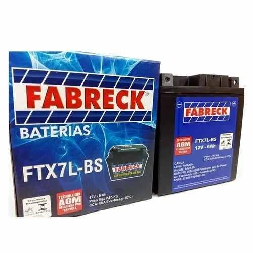 Bateria Nx 400 Falcon Selada Modelo Original Fa6d