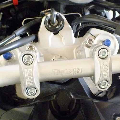 Riser Movel Mt 09 Trace r Adaptador Guidao Prata Scam Spta216