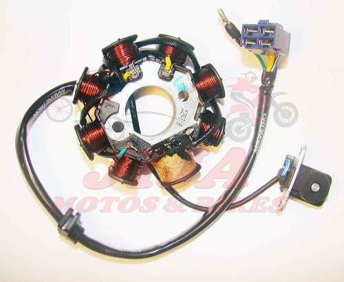Estator Super 100 Dafra Magnetron Modelo Original 8810