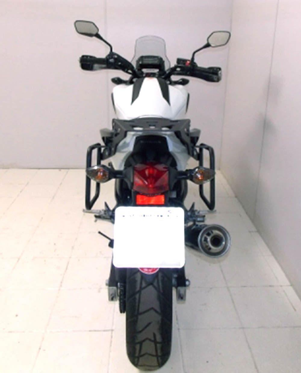 Afastador Alforge Nc 700 Nc 750 TODAS PRETO FOSCO 9951