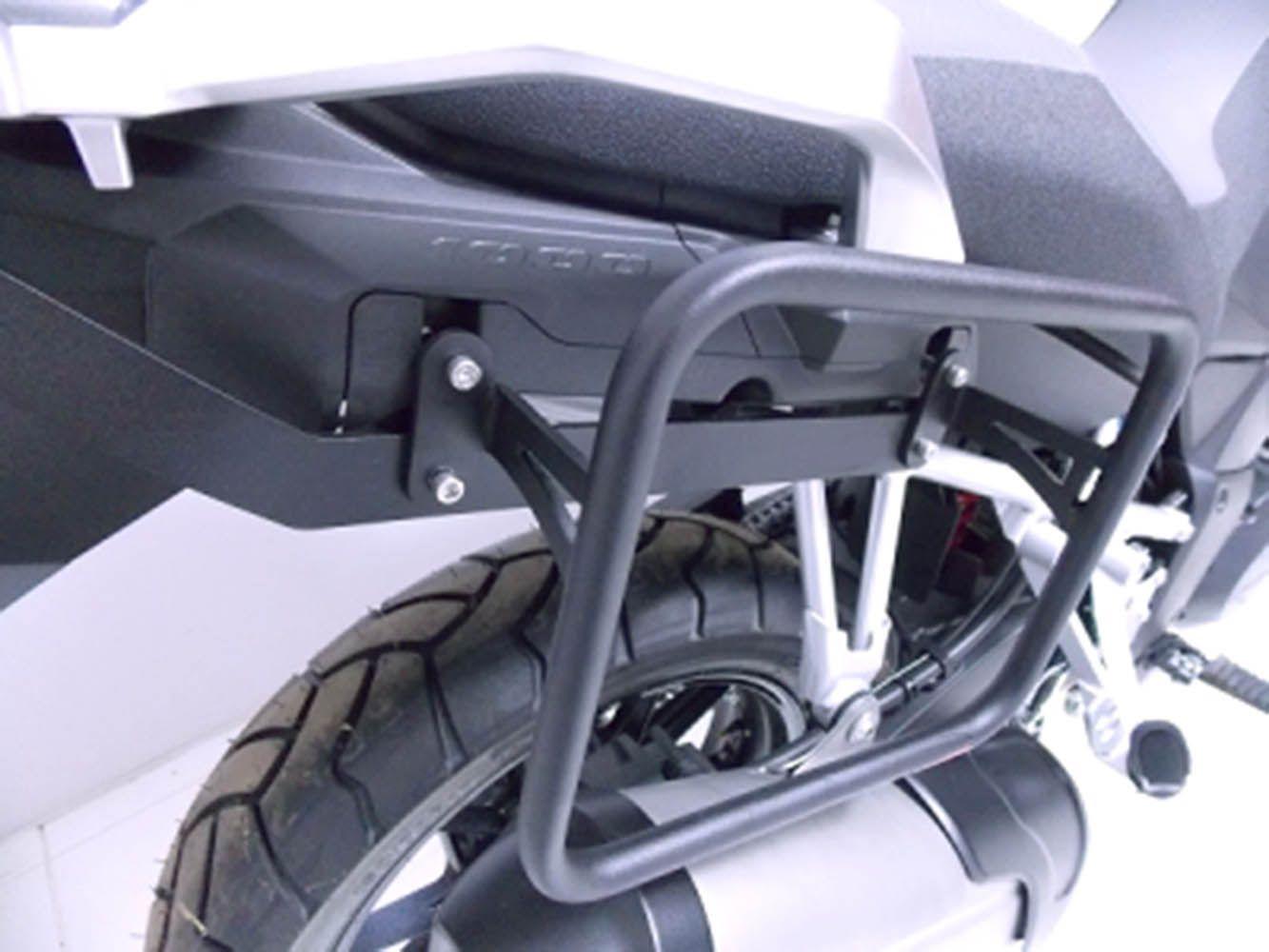 Afastador Alforge V Strom 1000 2014/ Suzuki Preto Fosco 9155