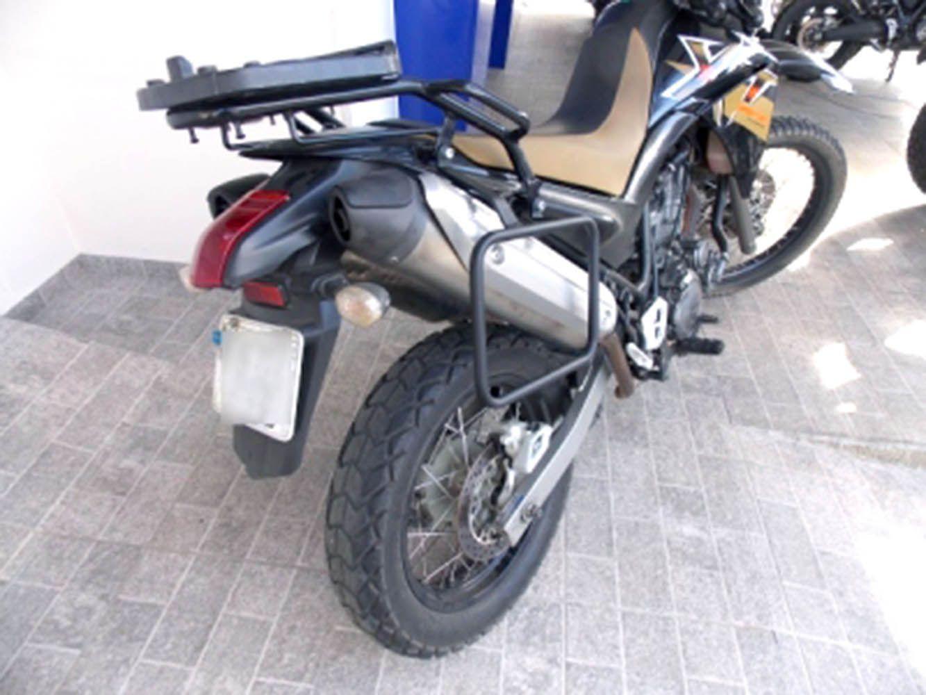 Afastador Alforge Yamaha Xt 660 R Preto Fosco Chapam 10731