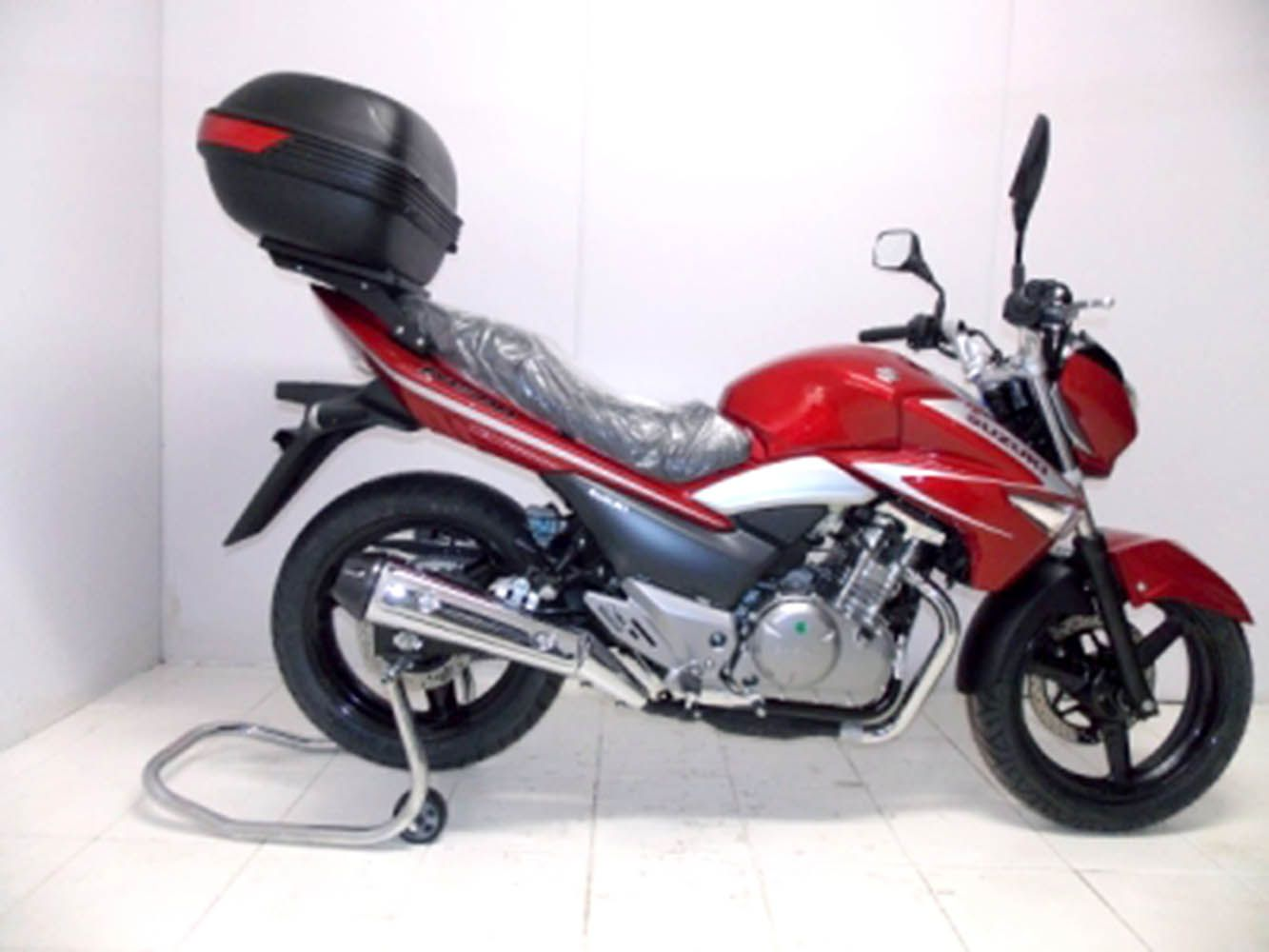 Bagageiro Chapa Bau Rack Suzuki Inazuma 250 Chapam 9553