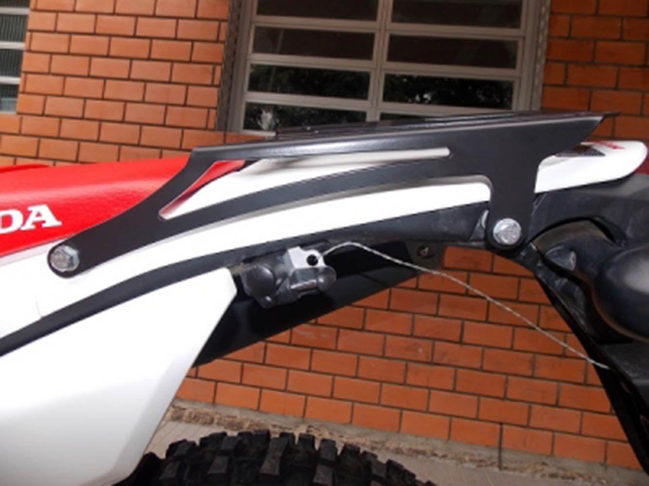 Bagageiro Chapa Bauleto Crf 250 L 2012 Preto Fosco 3331