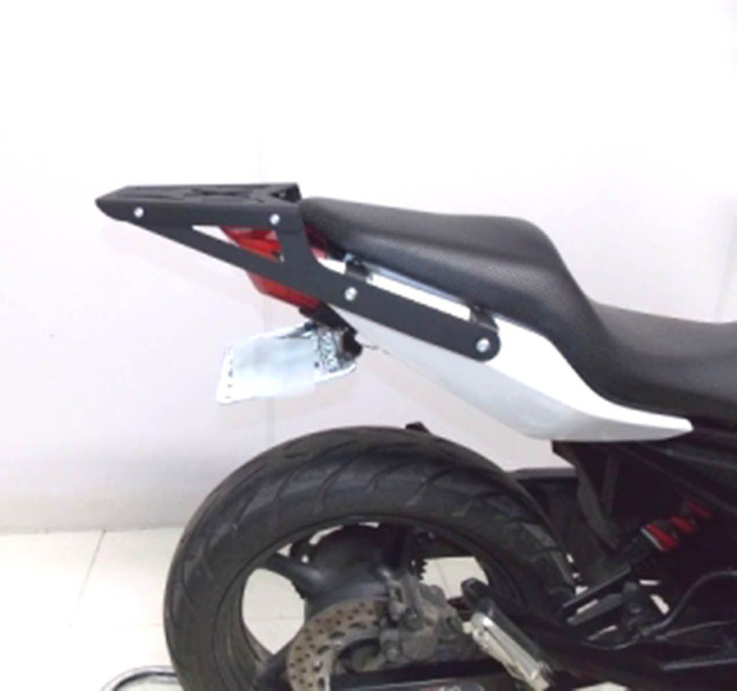 Bagageiro Chapa Rack Yamaha Xj 6 Preto Fosco Chapam 9417