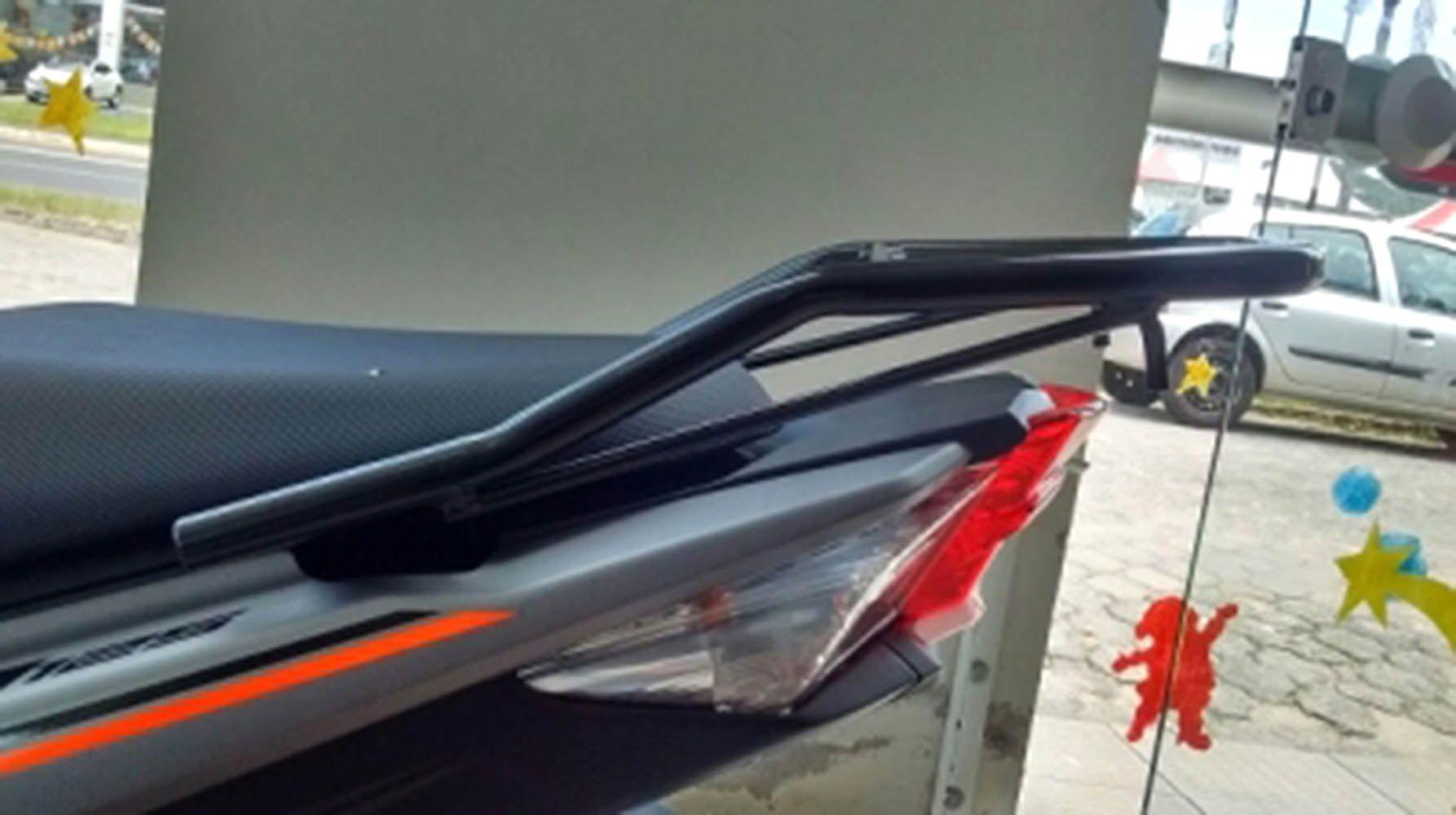 Bagageiro Neo 125 Yamaha Preto Reforçado Para Bau 2998