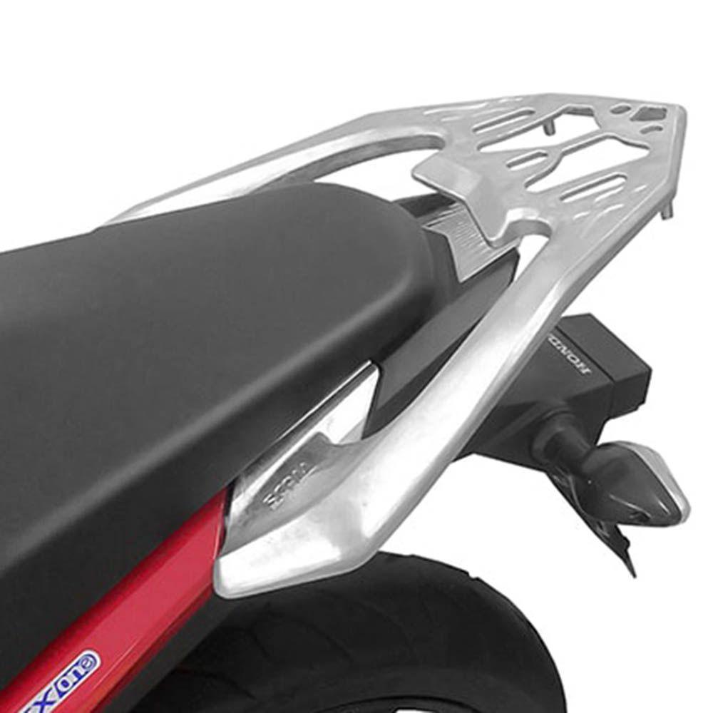Bagageiro Rack Cb Twister 250 Todas Scam Liga Leve Prata SPTA 169