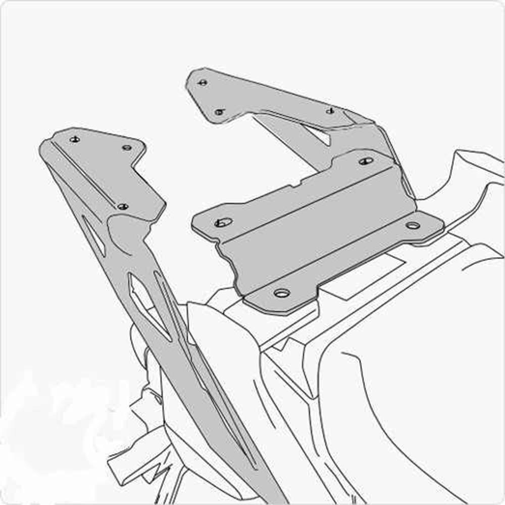 Bagageiro Rack Chapa Mt 09 Trace r 2015 Preto Givi Sr2122