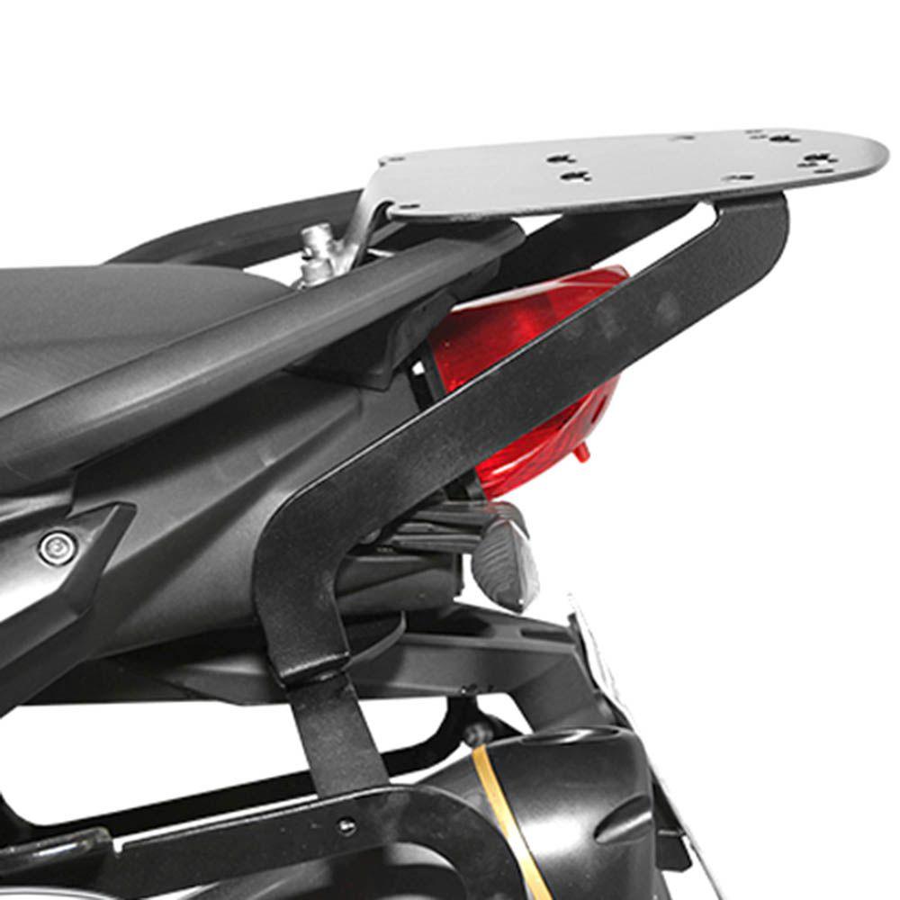 Bagageiro Rack Suporte Bau F 800 R Bmw Scam Preto SPTO097