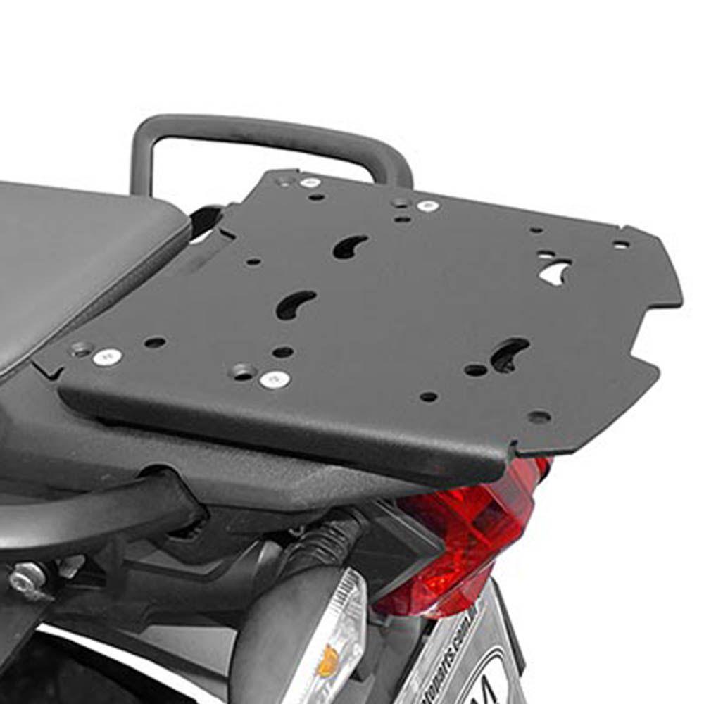 Bagageiro Rack Suporte Bau Tiger 800 Aço Carbono Preto Scam