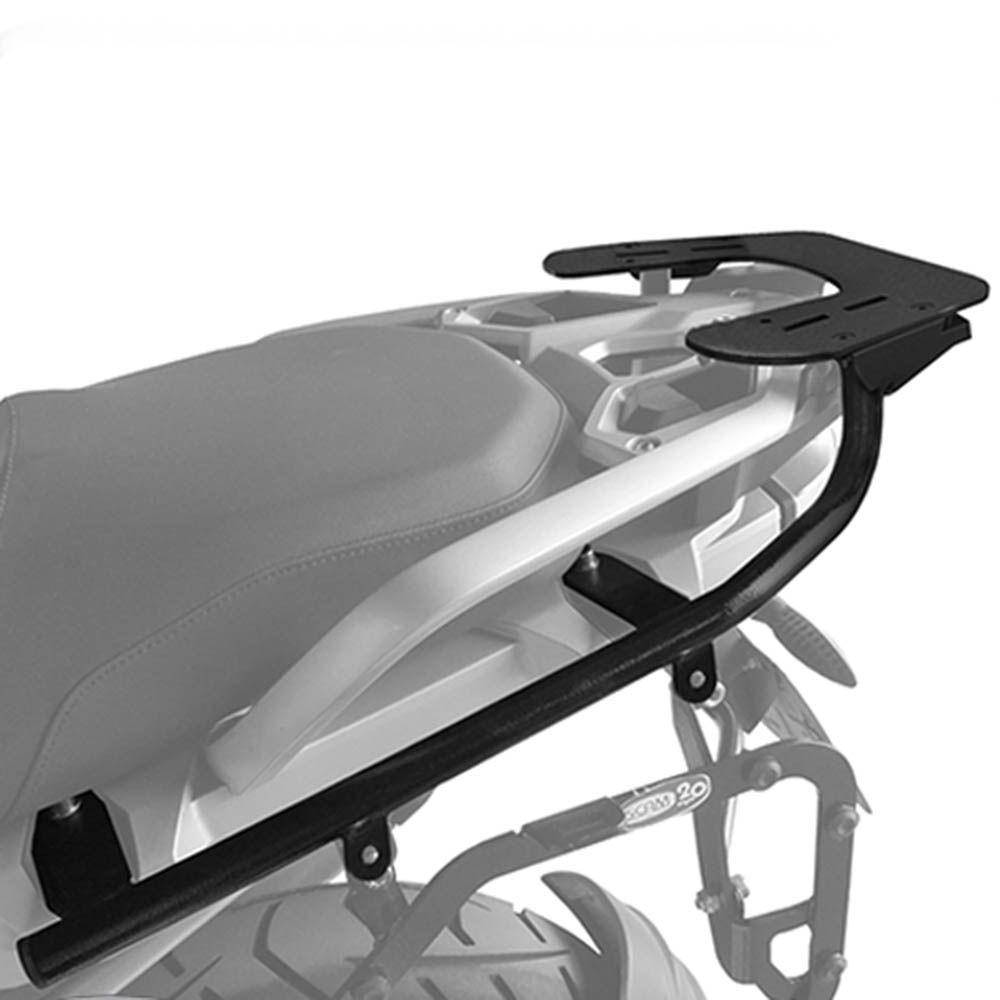 Bagageiro Rack Suporte Bau Top R 1200 Gs Scam 2013/ Preto