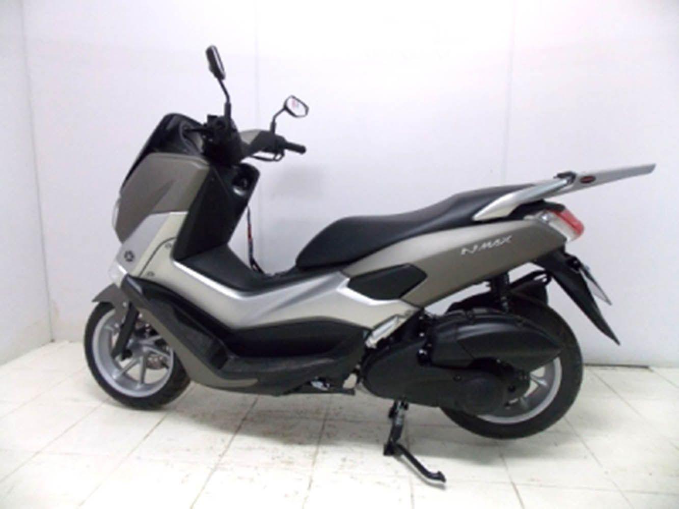 Bagageiro Suporte Bau Yamaha Nmax 160 Prata Chapam 10251