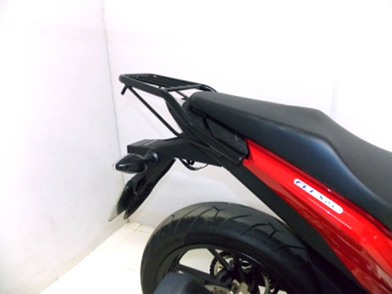 Bagageiro Tubular Cb 250 Twister Nova 2016 Preto Chapam10066