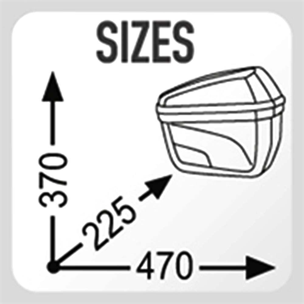 Bau 22 Litros Bauleto Givi E22 Par