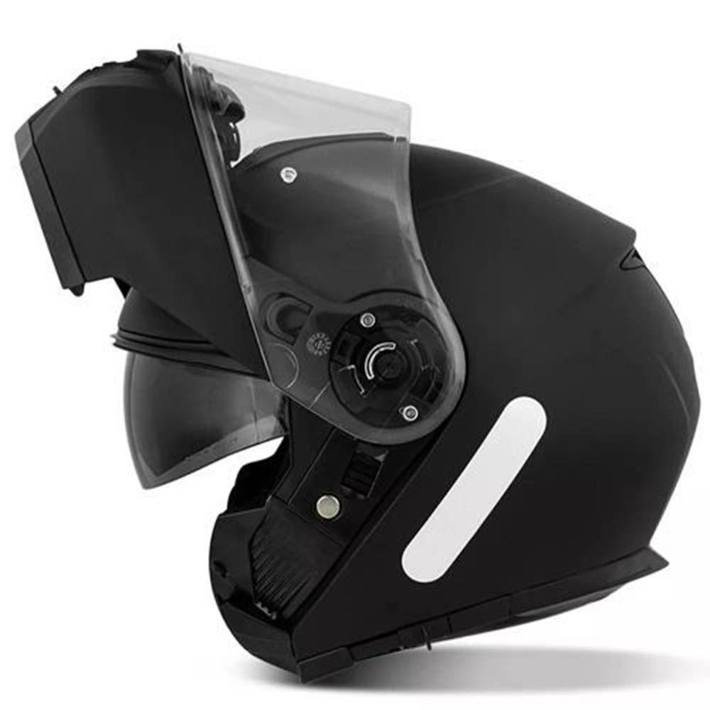 Capacete Robocop Givi Articulado X 21 Articulado Preto Fosco