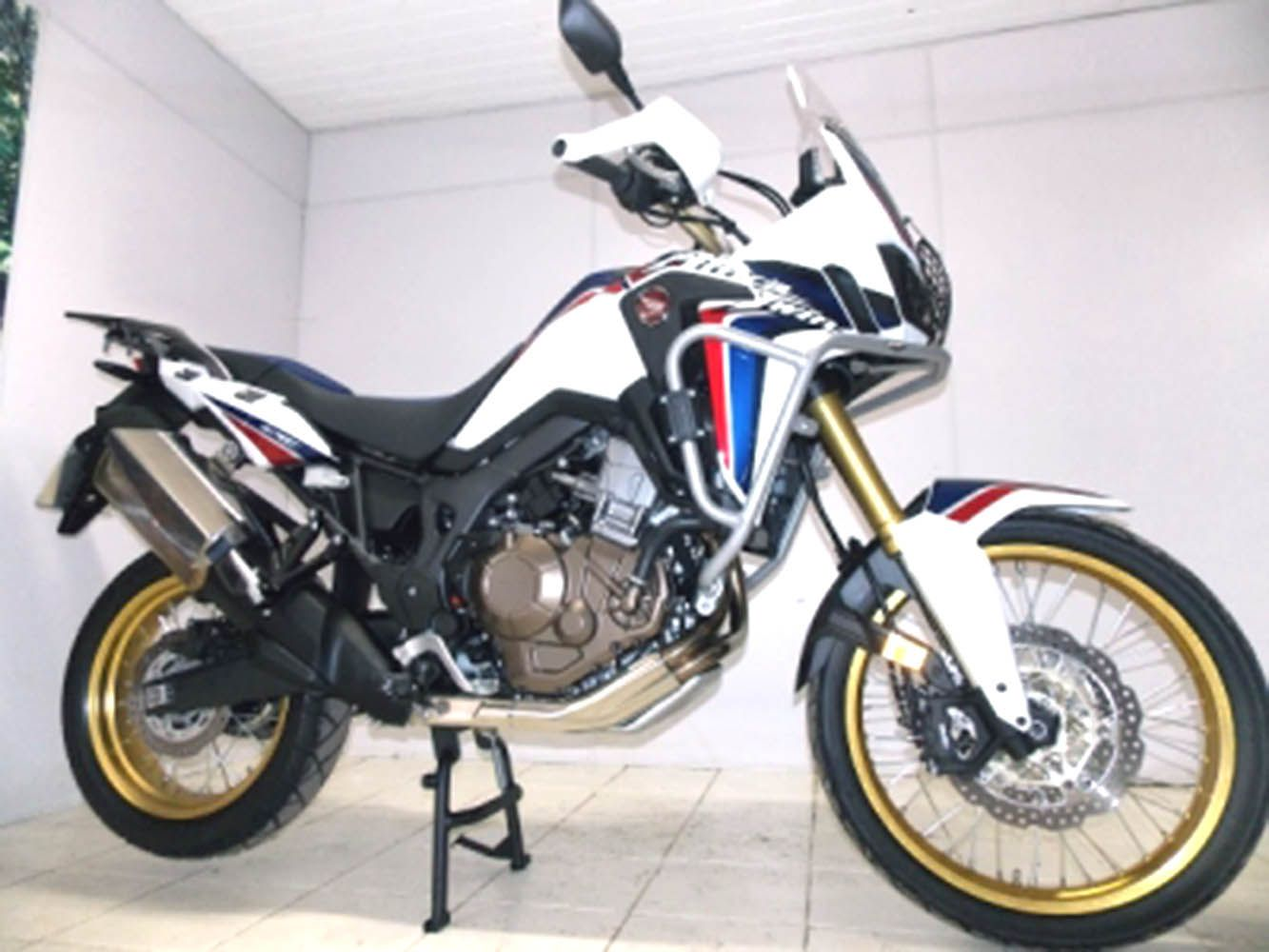 Cavalete Central Crf 1000 l Africa Twin Preto Chapam 10710