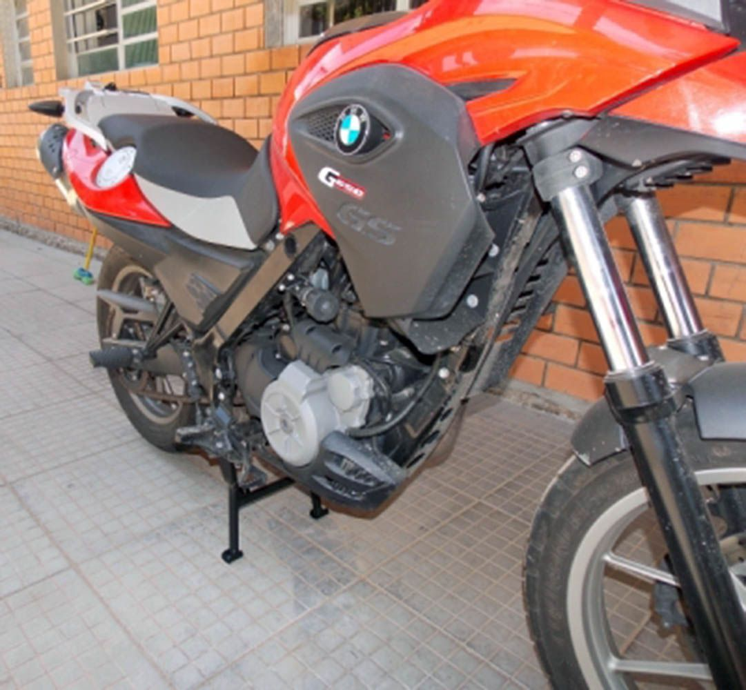 Cavalete Descanso Central Bmw G 650 Gs Preto 8345