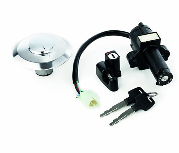 Conjunto Kit Chaves Igniçao Nx 150 modelo original 4070