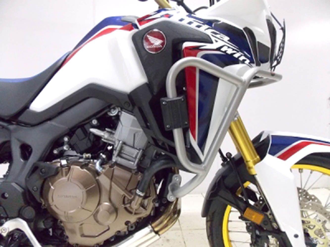 Protetor Carenagem Motor Crf 1000 l Africa Twin Prata 10705
