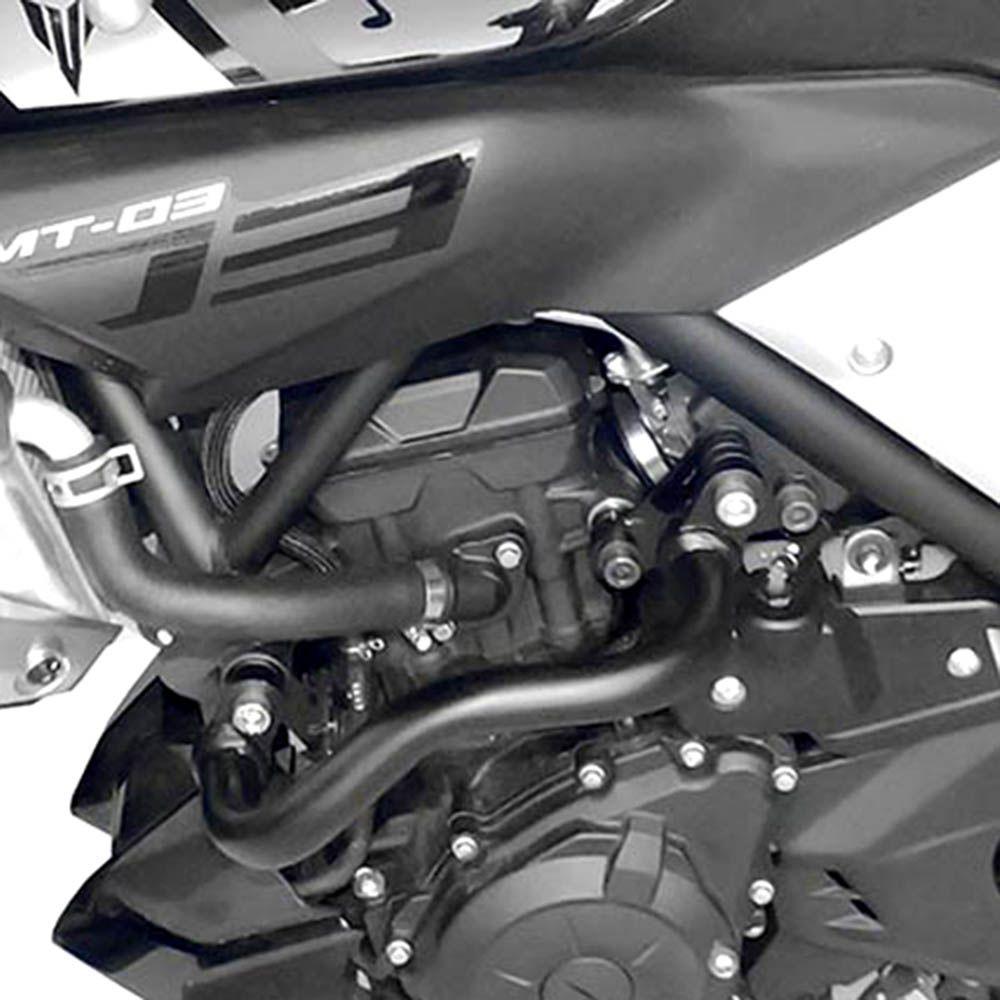 Protetor Carenagem Motor Mt 03 Yamaha Aço Carbono Scam 2015