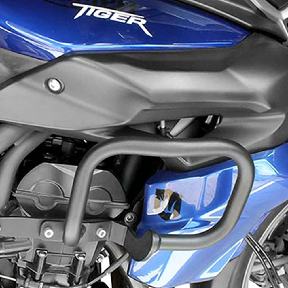 Protetor Carenagem Tiger 800 / 14 Aço Carbono Preto Scam