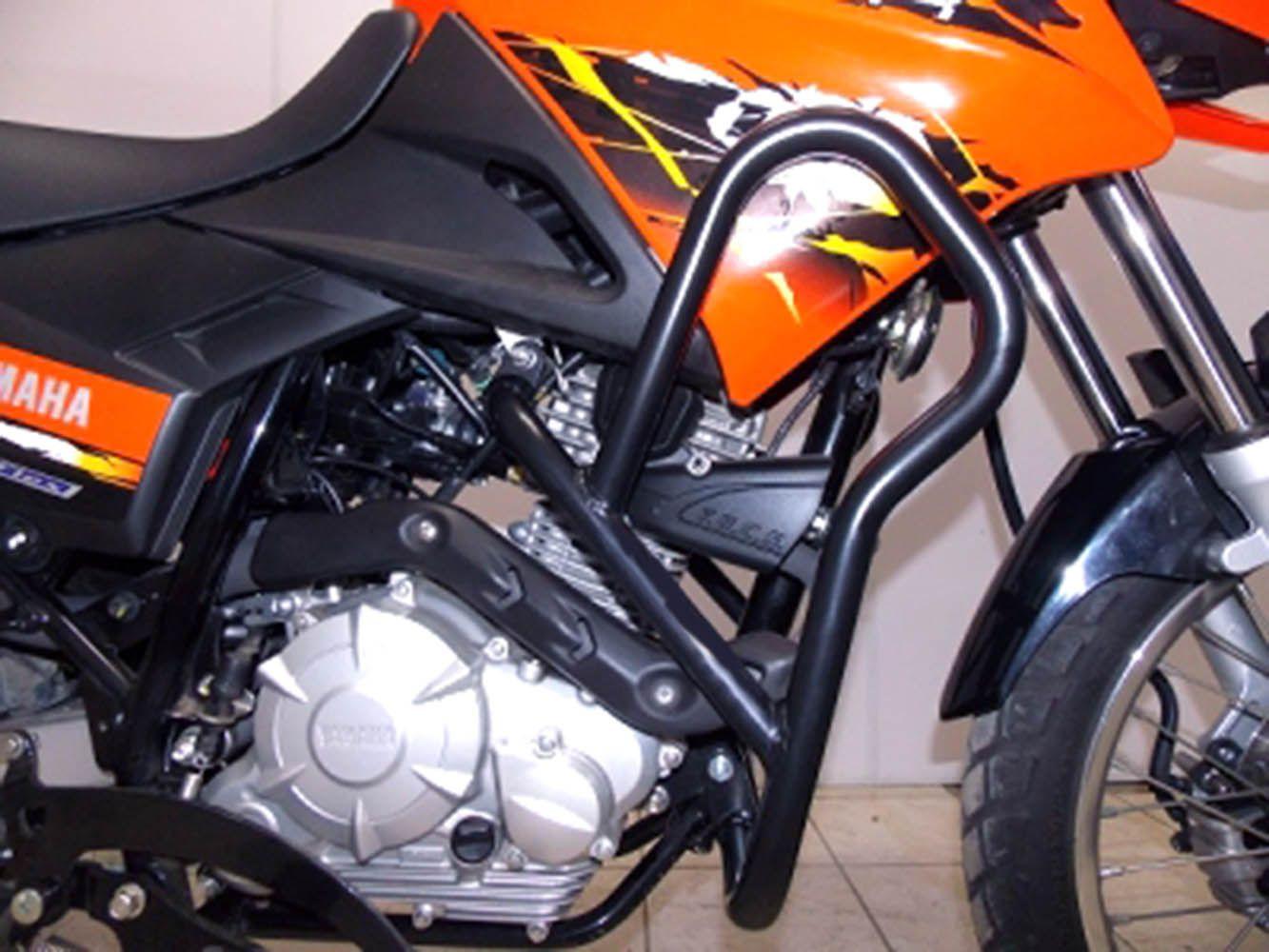 Protetor Carenagem Xtz Crosser 150 Motor Preto Fosco 859