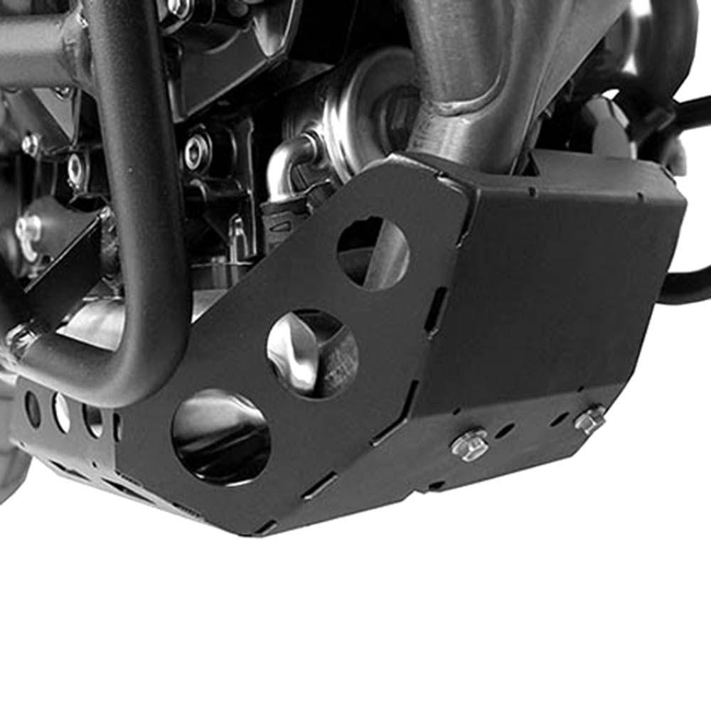 Protetor Carter Tiger 800 Aço Carbono Preto Scam SPTO145