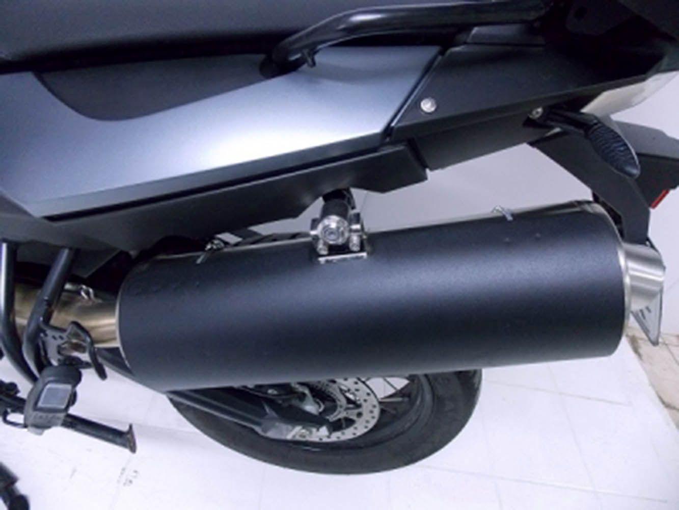 Protetor Escapamento Bmw F 800 Gs, Preto Fosco 9141 Chapam