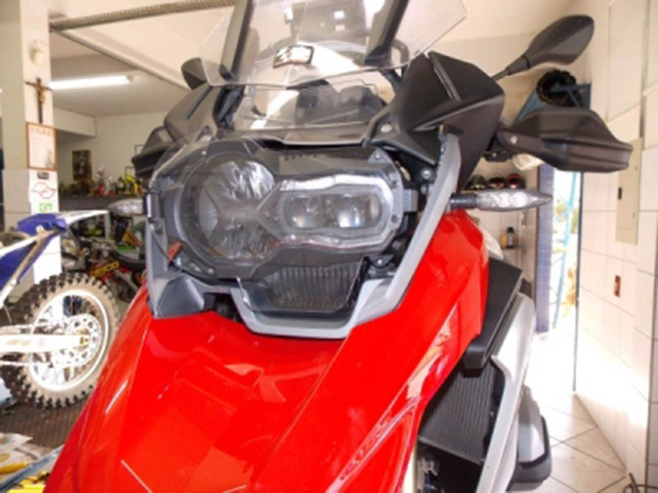 Protetor Farol Acrilico Bmw R 1200 Gs Sport Chapam 9691