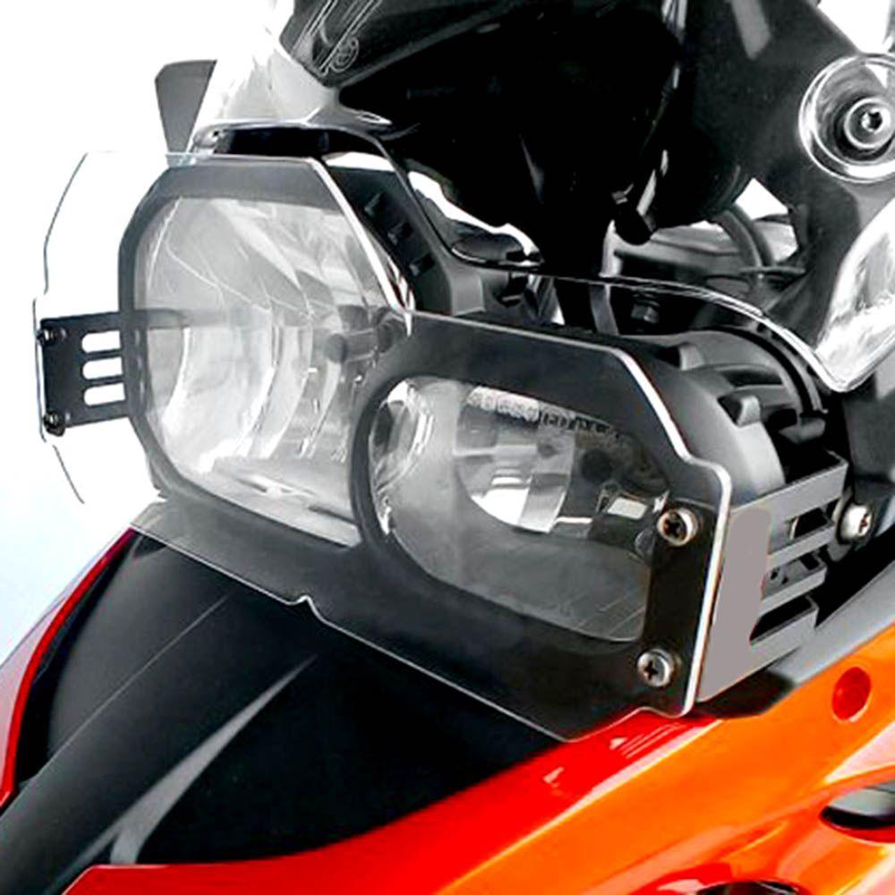 Protetor Farol Acrilico F 800 Gs Bmw Scam SPTO 256