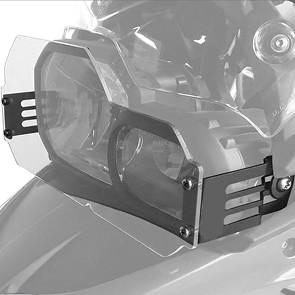 Protetor Farol Acrilico F 800 R Bmw Scam Preto SPTO 256