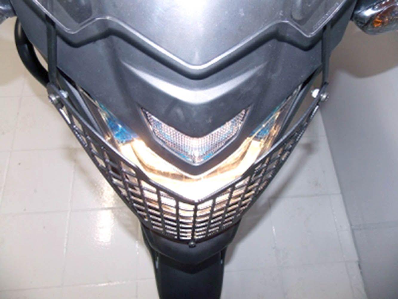 Protetor Grade Farol Cb 500 X Preto Fosco Chapam 868