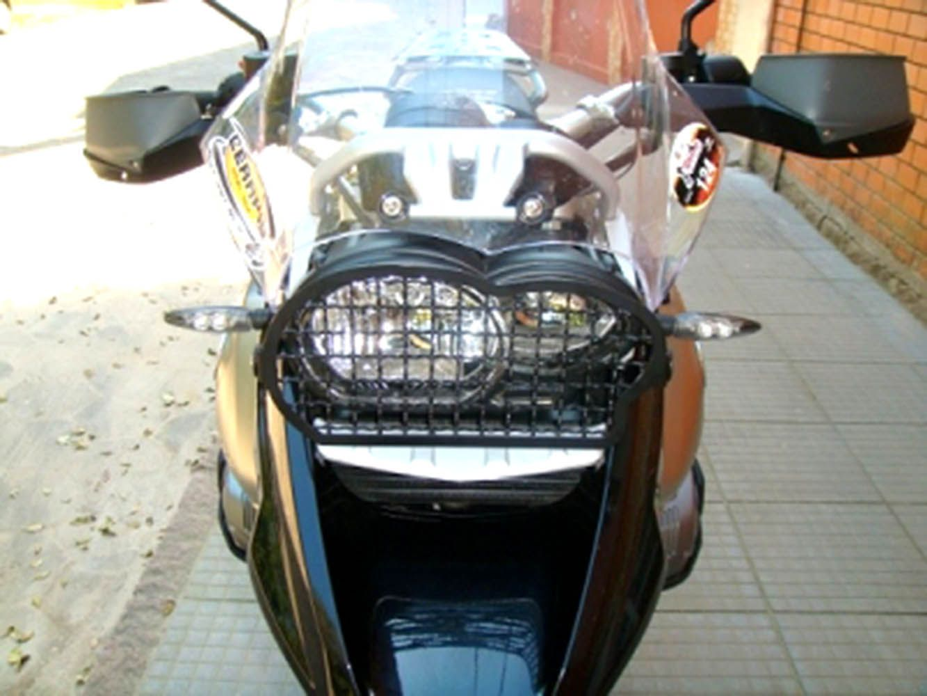 Protetor Grade Farol R 1200 GS Bmw Preto Fosco 4529 Chapam