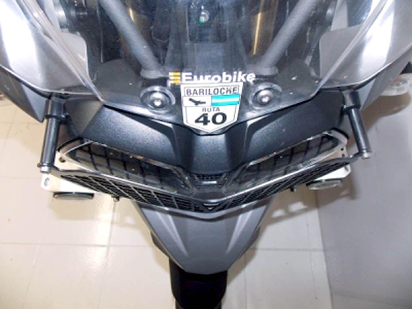 Protetor Grade Farol Tiger 1200 Triumph Chapam Preto 9218