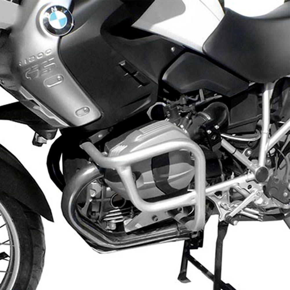 Protetor Motor Cabeçote R 1200 Gs Scam Aço Carbono Prata /12