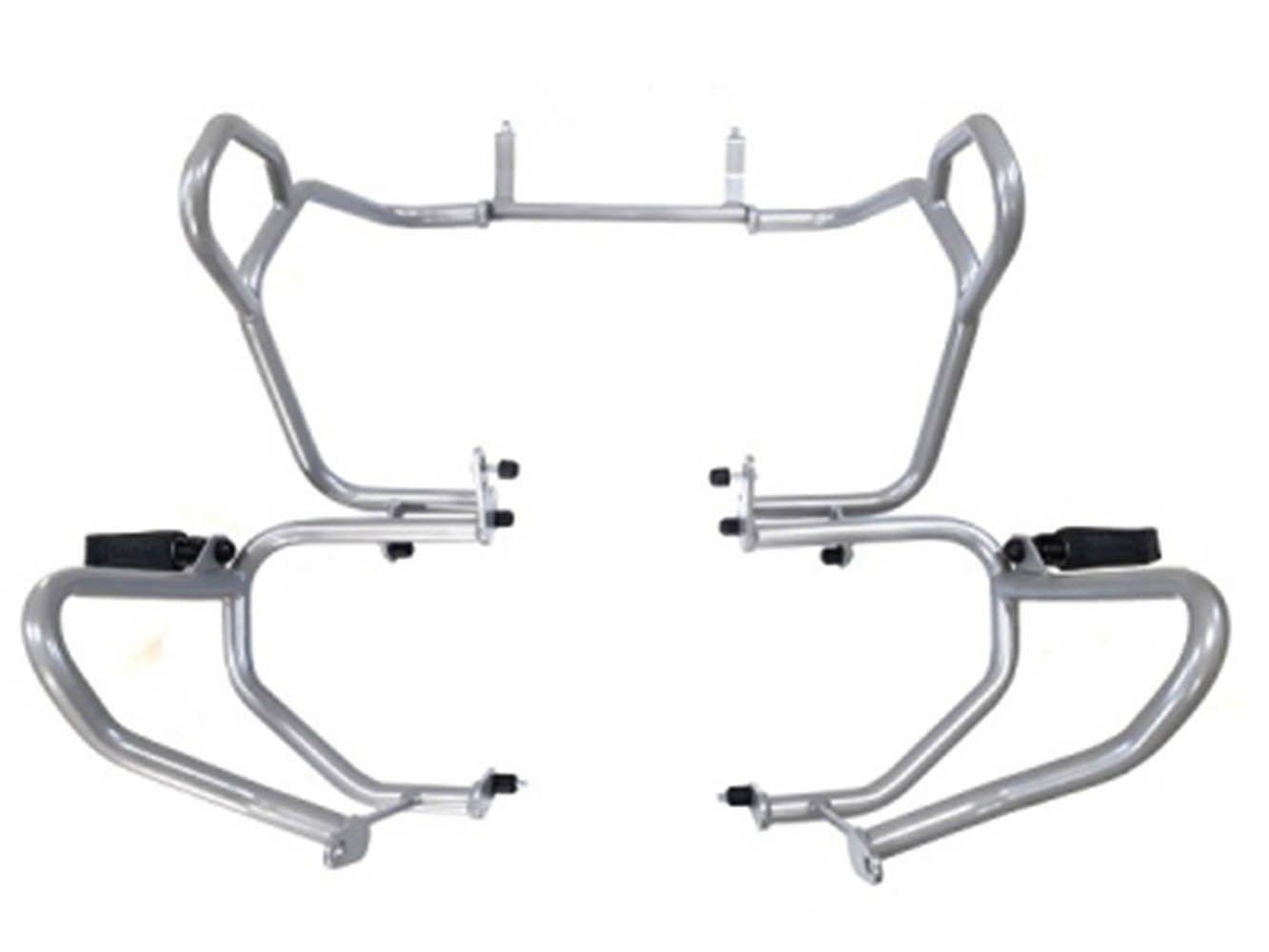 Protetor Motor Carenagem Bmw Premium R 1200 Gs Prata 2017
