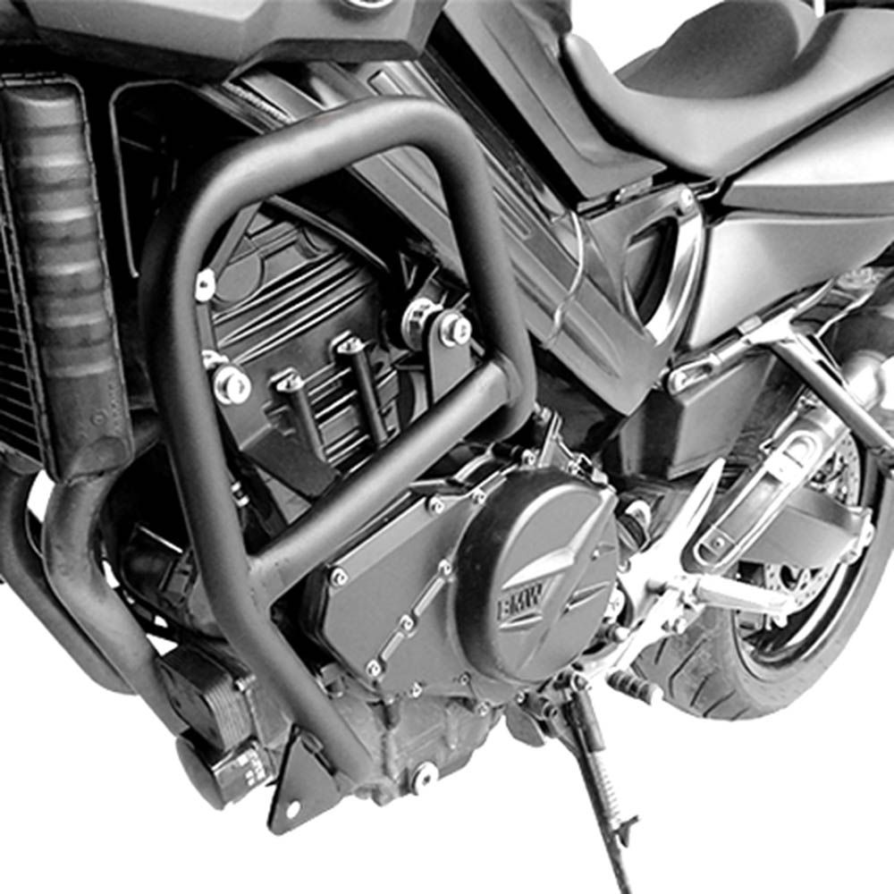 Protetor Motor Carenagem F 800 R Bmw Scam Preto C/ Pedaleira